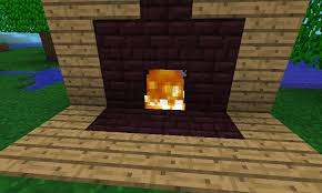 How To Make A Fireplace That Wonu0027t Burn Your House Down In Fireplace In Minecraft