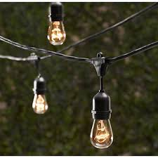 decorative string lighting. Decorative Outdoor String Lighting - 48 FT Long Bulbs Not Included