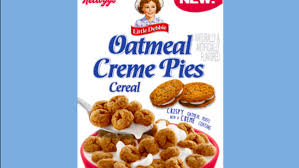 Only 1 available and it's in 1 person's cart. Little Debbie To Release Oatmeal Creme Pie Cereal