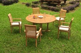 image is loading a grade teak 6pc dining 60 034 round