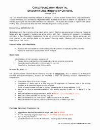 Nursing Student Resume Objective Modest Resume For Nursing School