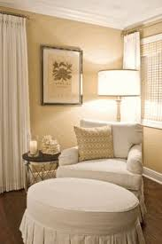 chair in bedroom. every confused about a corner perfect solution is chair, lamp and side table. reading area. chair in bedroom
