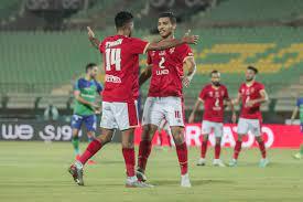 ملخص اهداف مباراة الاهلي ومصر المقاصة (4-1) الدوري المصري