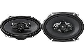 pioneer 6x8 speakers. pioneer ts-a6885r 6x8 4-way ts series coaxial car speakers