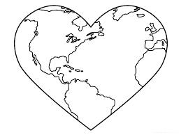 Heart Coloring Pages Heart Coloring Pages Free Heart Shape Coloring