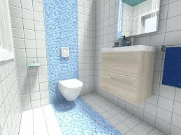 bathroom wall tile playful small design idea with blue mosaic accent bathtub installation bathroom wall tile