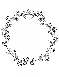 Free printable heart border that can be customized online or downloaded as is. Fun And Pretty Coloring Pages For Adults With Flowers And Leaves My Kingdom Of Chaos