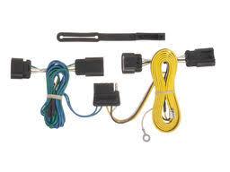 gmc terrain trailer wiring kits suspensionconnection com gmc terrain trailer wiring kit 2010 2012 by curt mfg 56594