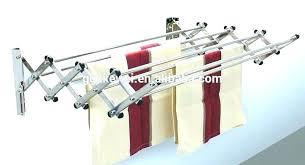 wall hang coat rack hanger clothes mounted hangers clo