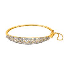 Diamond Bangles Designs Images 18kt Gold And Diamond Bangle