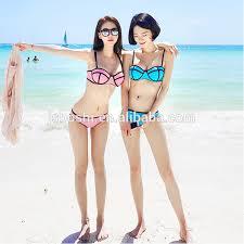 Asian teen bikini babes