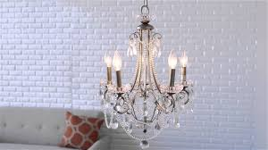 minka lavery 5 light mini chandelier distressed silver bellacor