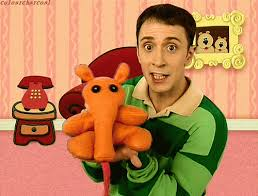 Blues clues gingerbread boy Blue Girl Magenta 12 He Wasnt Ashamed To Show Off His Stuffed Anteater The Parody Wiki Fandom 17 Reasons Steve From blues Clues Was One Of The Greatest Guys On