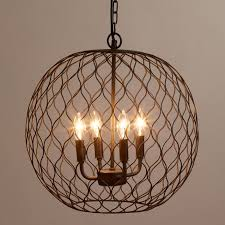 pendant lighting chandelier. Rustic Industrial Pendant Lighting Shades Island Chandelier Wire Basket And Wood Wrought Iron Farmhouse Mini Lights