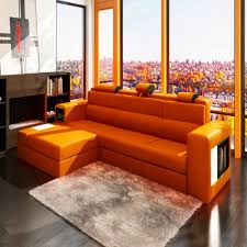 Lazy Boy Living Room Furniture Furniture Orange Leather Lazy Boy Sectional Sofas For Living Room