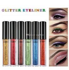 waterproof glitter diamond liquid eyeliner gel shinny shimmer brighten eye liner eyeshadow pencil cosmetics makeup tool how to apply eye shadow how to put
