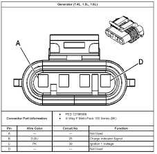 All Chevy 2005 chevy aveo alternator : 2005 Aveo Master Connector List and Diagrams
