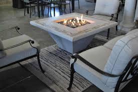 siena fire pit table concrete pit table