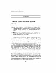 ask the experts gender inequality essay gender inequality ghost writing essays