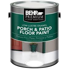 behr premium 1 gal pfc 40 green low re porch and patio floor paint 630001 the home depot