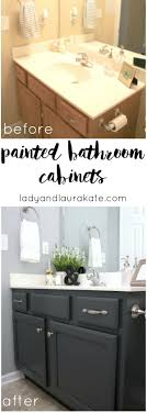 bathroom vanity remodelaholic painted bathroom sink and countertop makeover at painting countertops from painting bathroom
