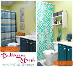 Bathroom Refresh With Better Homes And Gardens Jenna Burger Walmart Better Homes And Gardens Towel Bar