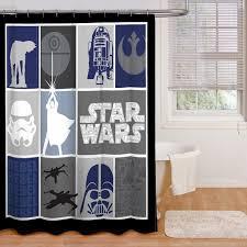 com star wars classic quilt microfiber fabulous shower curtain kohls hooks