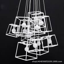 stairs light restaurant meal home lighting decoration. creative quality decorative square cage chandelier cafe restaurant staircase lamp amoy studio window online with stairs light meal home lighting decoration