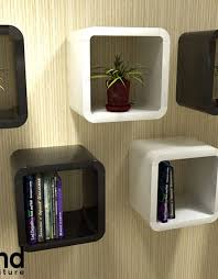 modular cube shelf 2121 in black and white