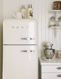smeg retro appliances. Modren Appliances Retro Kitchen With Smeg Refrigerator Via SF Girl By Bay Photo By Magnus  Selander Photography On Appliances C