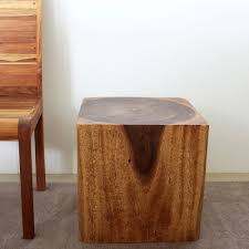 wooden cubes furniture. Wooden Cube 18 Walnut Oil End Table (Thailand) | Overstock.com Shopping - The Best Deals On Coffee, Sofa \u0026 Tables Cubes Furniture S