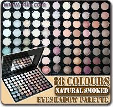 88 brown warm colour neutral eyeshadow palette makeup eye shadow power set w88 kit