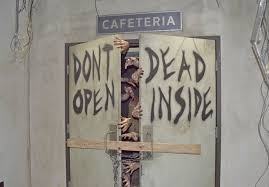 inside the walking dead attraction at universal studios hollywood
