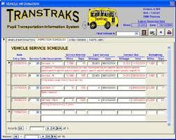 vehicles maintenance records vehicle module