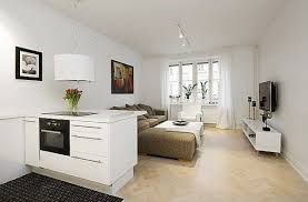 apartments design. Beautiful And Efficient Design In A One-Room Apartment Shop This Look: Rug, Coffee Table, White Chair. Apartments