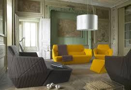 Yellow Living Room Chair Facet Sofa Armchair By Bouroullec Brothers To Live To Lounge