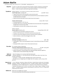Collection Of Solutions Examples Of Resumes Sample Resume Profile