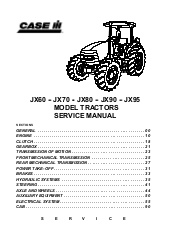 Case Ih Jx90 Tractor Service Repair Manual