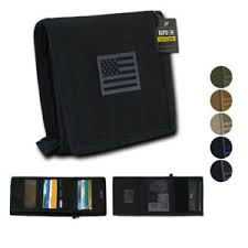 Tri Fold Window Details About Rapdom Mens Tri Fold Wallet Tactical Non Stick Id Window 18 Compartment Pocket
