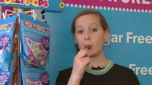 11-year old candy loving kid invents healthy & <b>sugar</b>-<b>free lollipops</b>