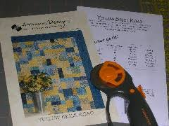 Yellow Brick Road quilt pattern | Terri's Notebook & Related Adamdwight.com