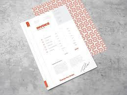 invoice template design 10 free invoice templates for creatives 1stwebdesigner