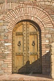 Medieval Doors castle door on medieval tuscan fortification stock photo picture 3575 by xevi.us
