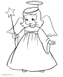 Small Picture 53 best ANGEL COLORING PAGES images on Pinterest Coloring sheets
