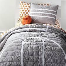 fashionable inspiration basketball comforter sets bedding crate and barrel queen twin bedroom themed nba clever design
