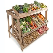 Fruit And Vegetable Stands And Displays Awesome Linkshelving Rustic Display EquipmentVegDisplay32 Linkshelving