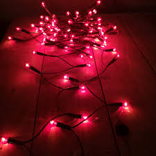 Christmas Berry Lights Uk Christmas Workshop 50 Festive Red Berry Christmas Lights