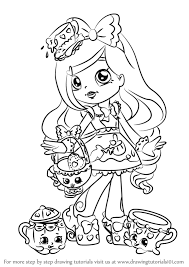 Image Result For Shoppies Colouring Colouring Shopkins Shoppies
