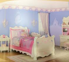 blue bedroom decorating ideas for teenage girls.  Ideas Well Liked White Valance Shade For Single Princess Bed Added Vanities Also  Bedside Table And Sky Blue Wall Painted In Cool Teen Girls Bedroom Decorating  Intended Ideas Teenage
