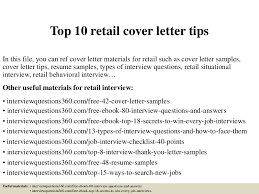 top10retailcoverlettertips 150402044007 conversion gate01 thumbnail 4jpgcb1427967654 retail cover letter examples